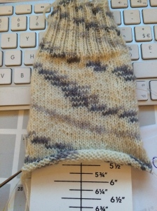 The Sock Ruler www.knittinginfrance..com