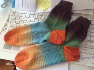 knitcircus socks 28jan