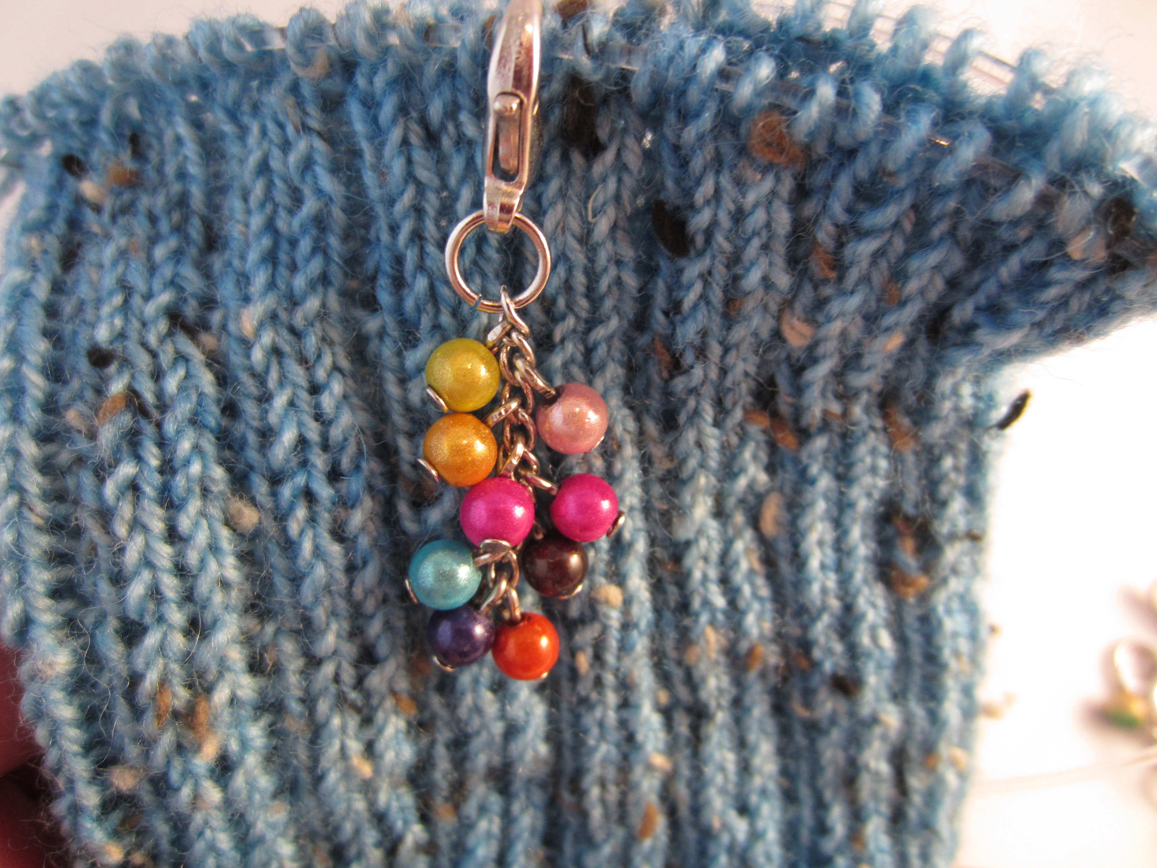Knitting Lifeline With Stitch Markers : Stitch markers and item reviews Welcome to Knitting in France