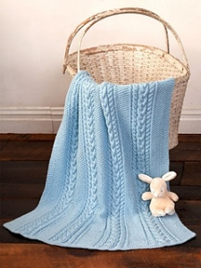 little baby blue blanket