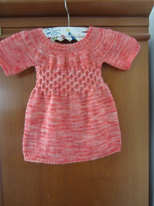 baby dress by Knitting in France