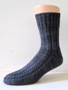 Maudie sock pattern by General Hogbuffer