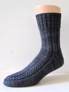 Maudie sock pattern by General Hogbuffer
