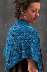 Breton shawl -www.knittinginfrance.com