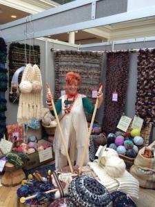 Ingrid Wagner big knits