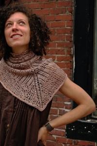 Prevert shawl   - www.knittinginfrance.Com