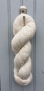 Silverspun cotton and silver yarn - www.knittinginfrance.com