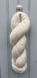 Silverspun cotton and silver yarn - www.knittinginfrance.com