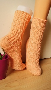 Elfriede free sock pattern on Ravelry