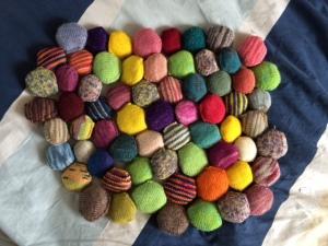 scrap yarn swap on www.knittinginfrance.com