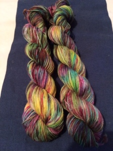 two at a time speckled yarn 2