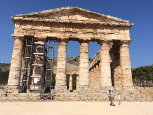 Sicily-  ancient temple