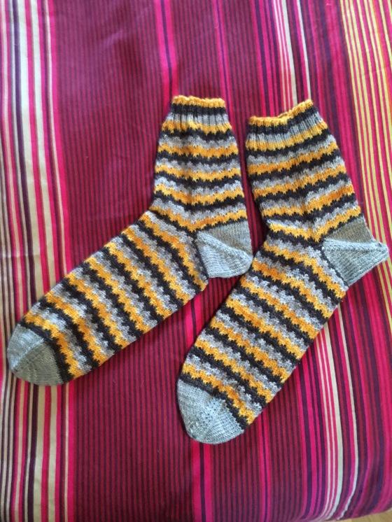 geek socks done