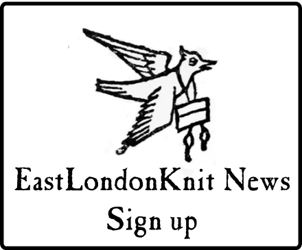 EastLondonKnit newsletter sign up