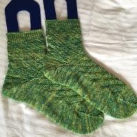 pepermint mocha socks by cc