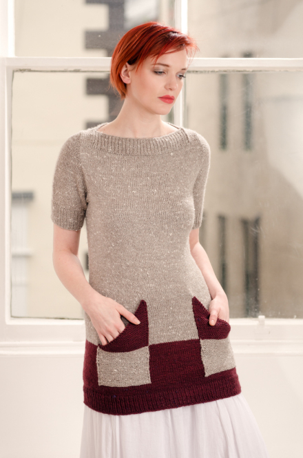 Zen Variations Knitting pattern by Renée Callahan-4