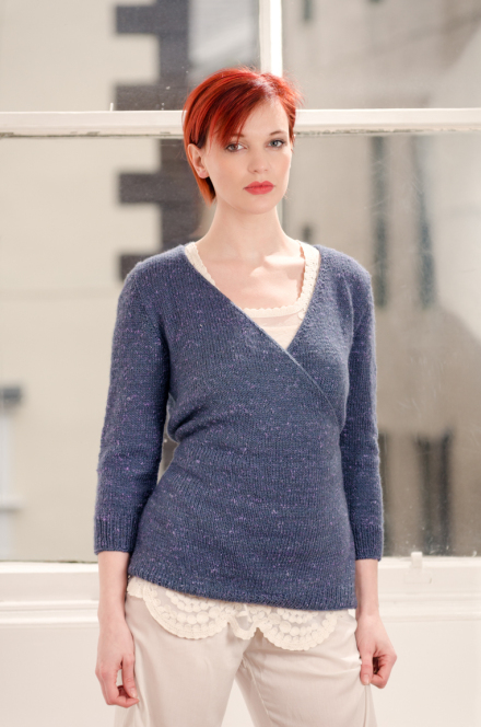 Zen Variations Knitting pattern by Renée Callahan-9