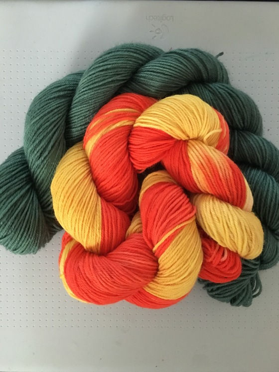 candycorn yarn