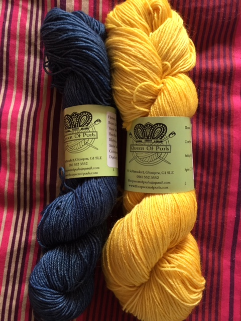 queen of purls hand dyed