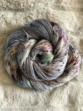 One of a kind 463 yards, 100 gr 75/25 superwash merino/nylon