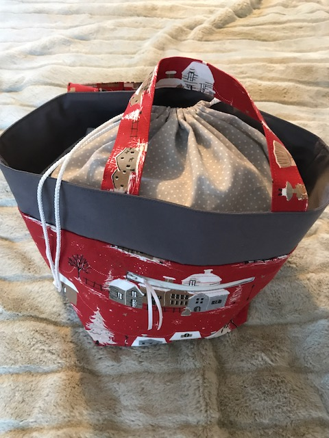 christmas project bag