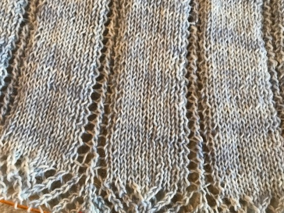 temperance shawl lace
